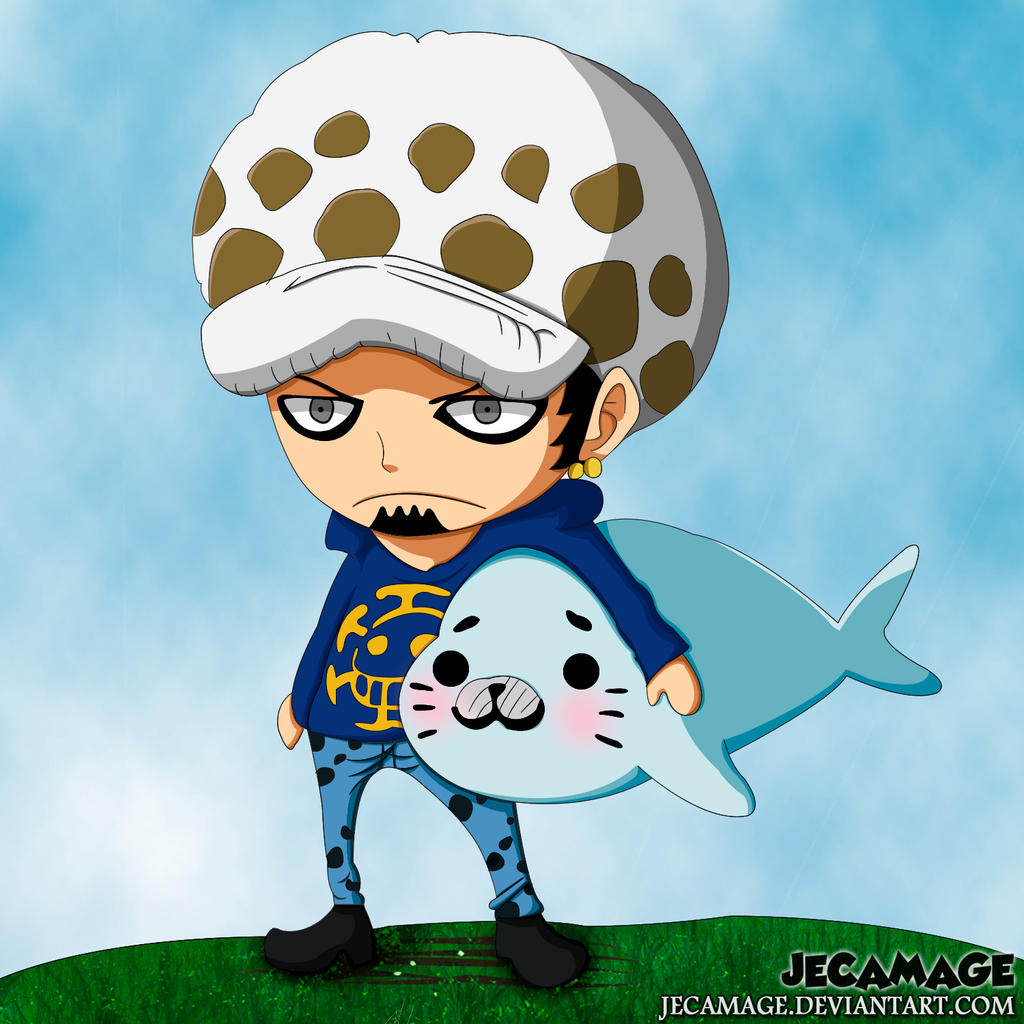 Trafalgar D. Water Law Ver. Chibi by Jecamage on DeviantArt