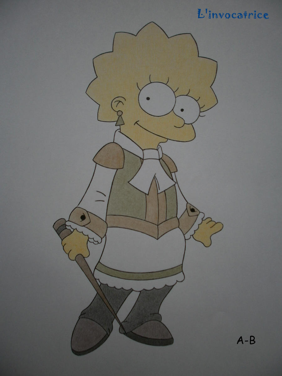 Lisa Simpson by Alicetiger