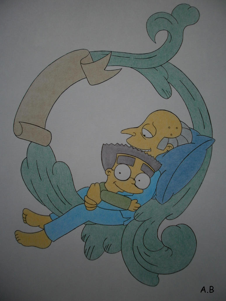 Mr Burns and Smithers by Alicetiger