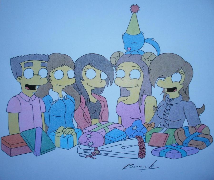 Happy Birthday kenza-la-louve! by Alicetiger