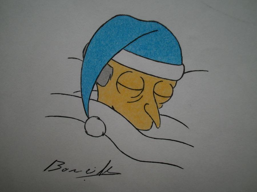 Mr.Burns by Alicetiger