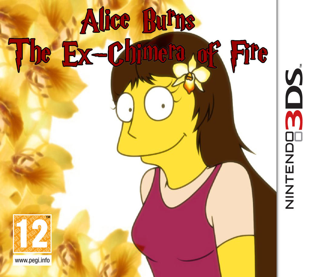 Alice Burns The Chimera of Fire 3DS by Alicetiger