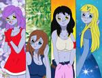 Yuka, Jully, Gwen and Miyuki