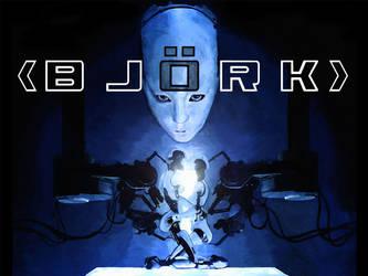 Bjork All is Full Love poster