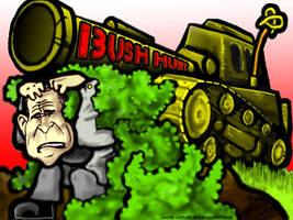 Bush Hunt by e-raser
