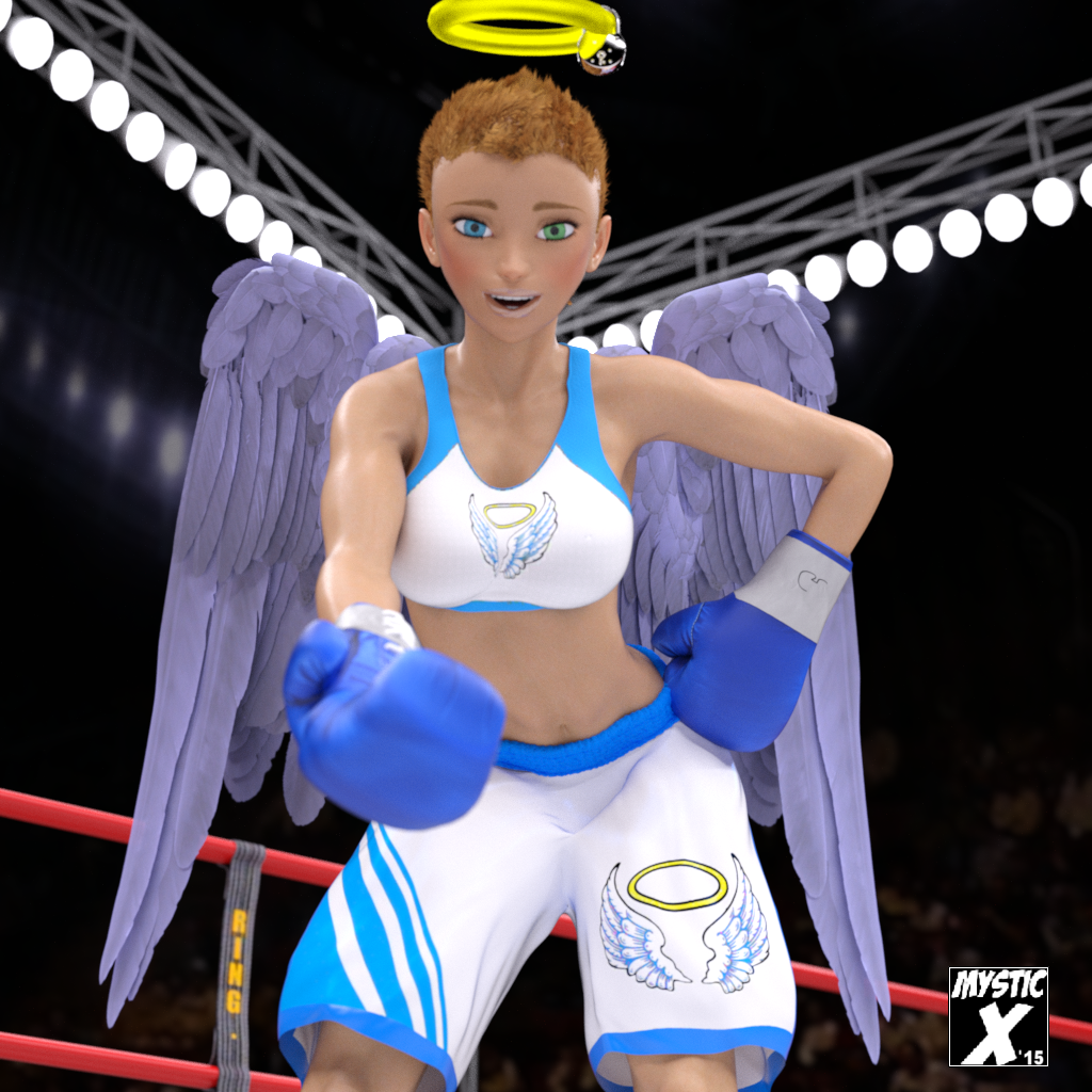 Boxing Angel Brings Bishoujo Fashion To The World Of High School ...