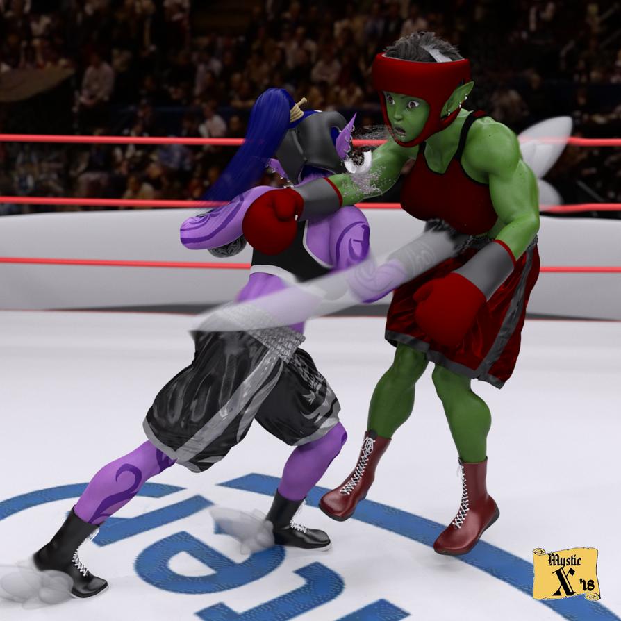 Kotara - One-punch elf by mysticx1