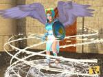 Trina - 'Summon angel' spell by mysticx1