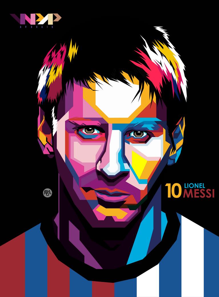 f22893e2966 Lionel Messi by RDA16 on DeviantArt