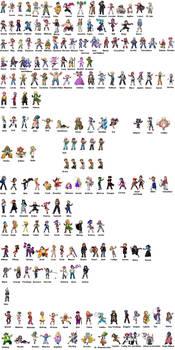 Region Main Characters