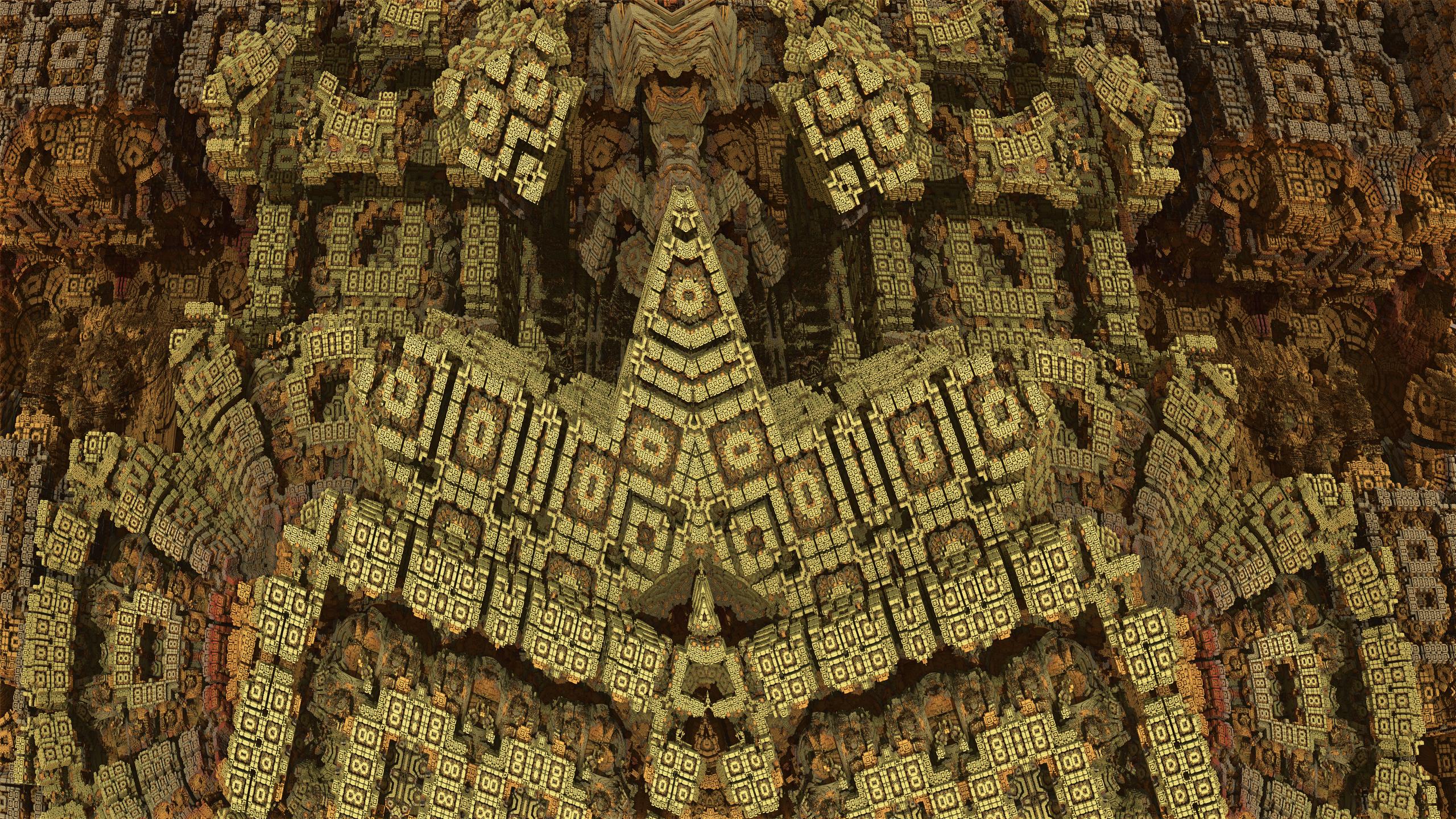 Inside Aztec Temple Cosmic aztec temple byInside Aztec Temple