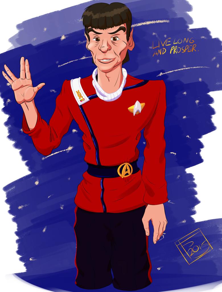Ambassador Spock by Rixks
