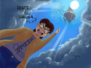 Don't you wanna fly?