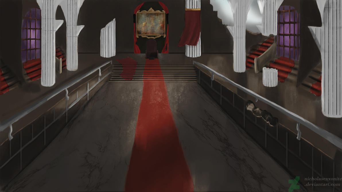 Throne Room by NicholasExxonite