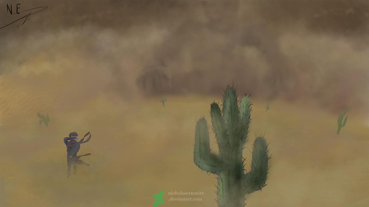 Desert Storm by NicholasExxonite