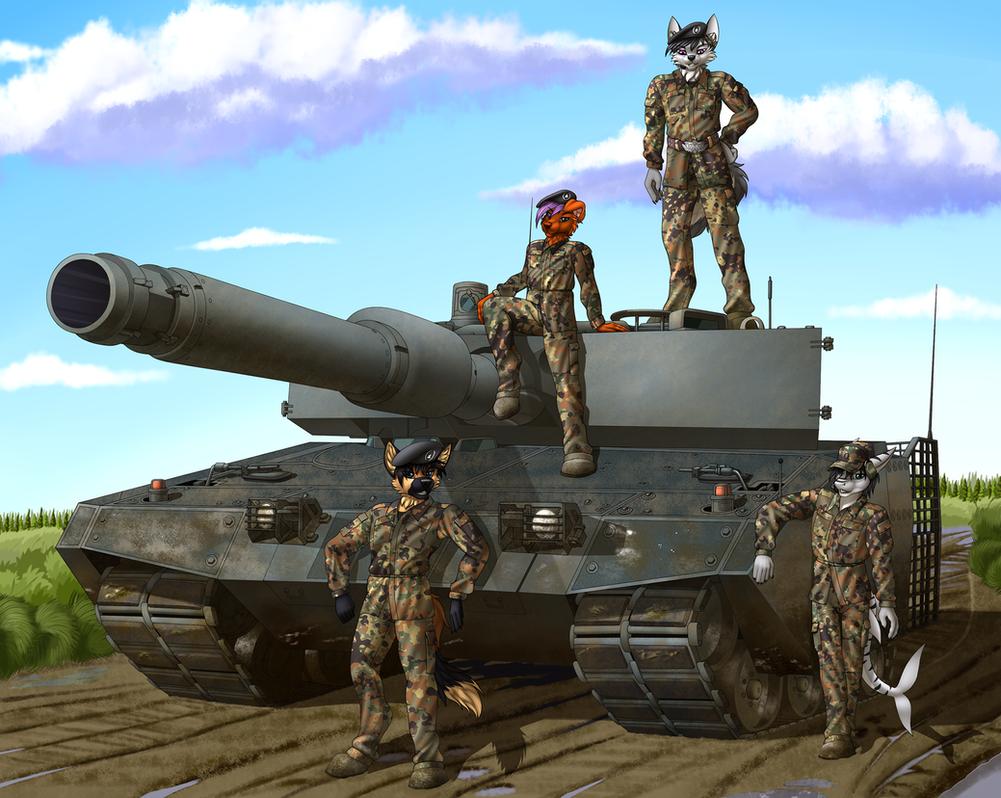 Tank crew. by TalesFoxdale