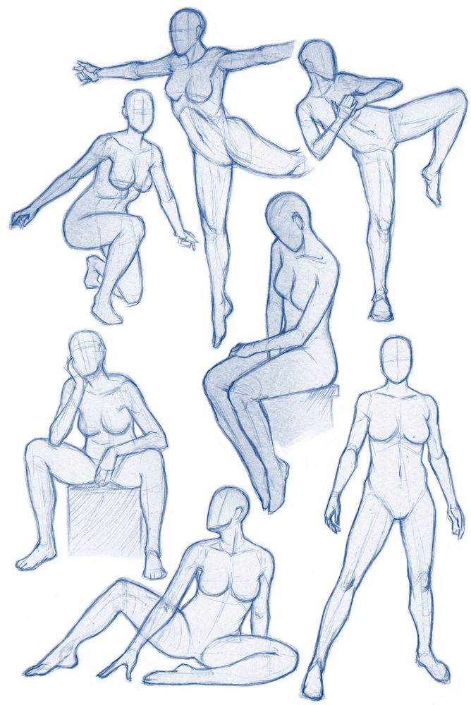 Figure Sketches by MGilhang