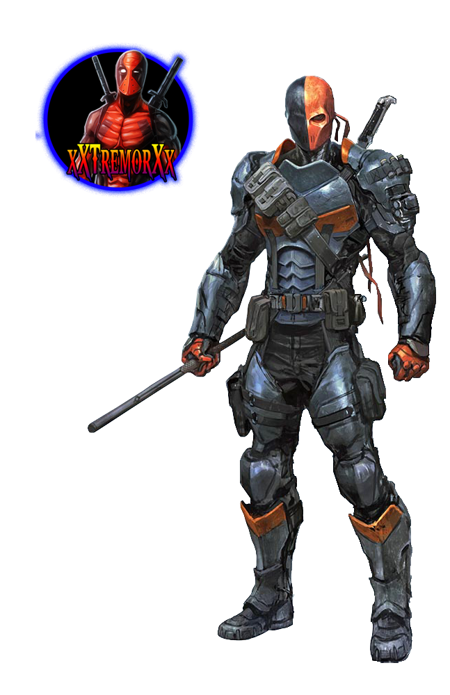 Deathstroke Arkham Origins #1 - Render by xXTremorXx on ...