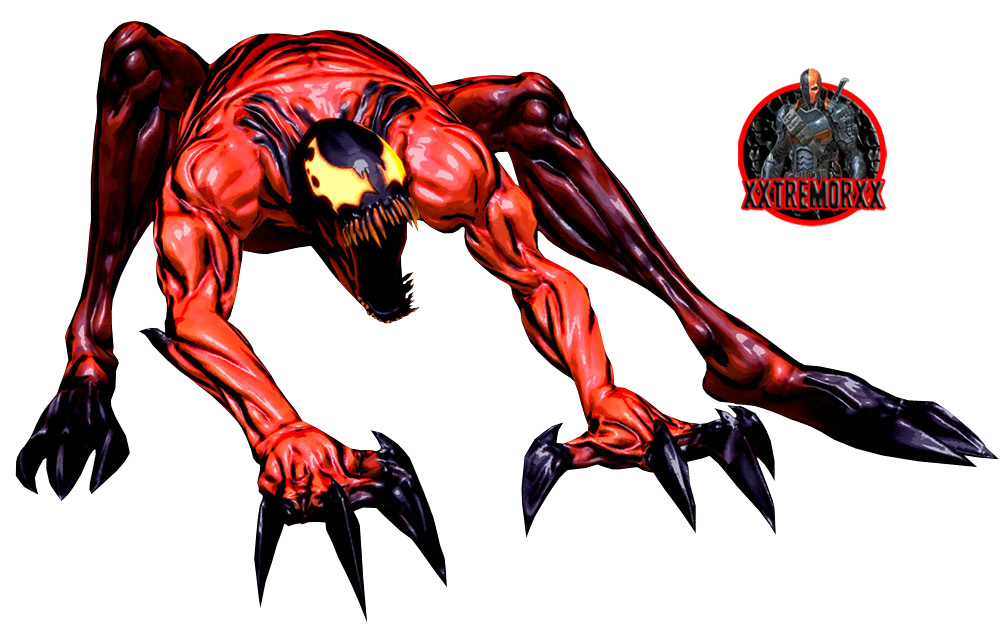 carnage shattered dimensions 2 render by xxtremorxx