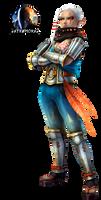 Impa #1 - Hyrule Warriors - Render (HD)