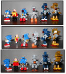 Sonic Minifig Collection, October 2016