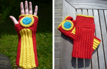 Iron Man handwarmers