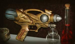 Steampunk Gun