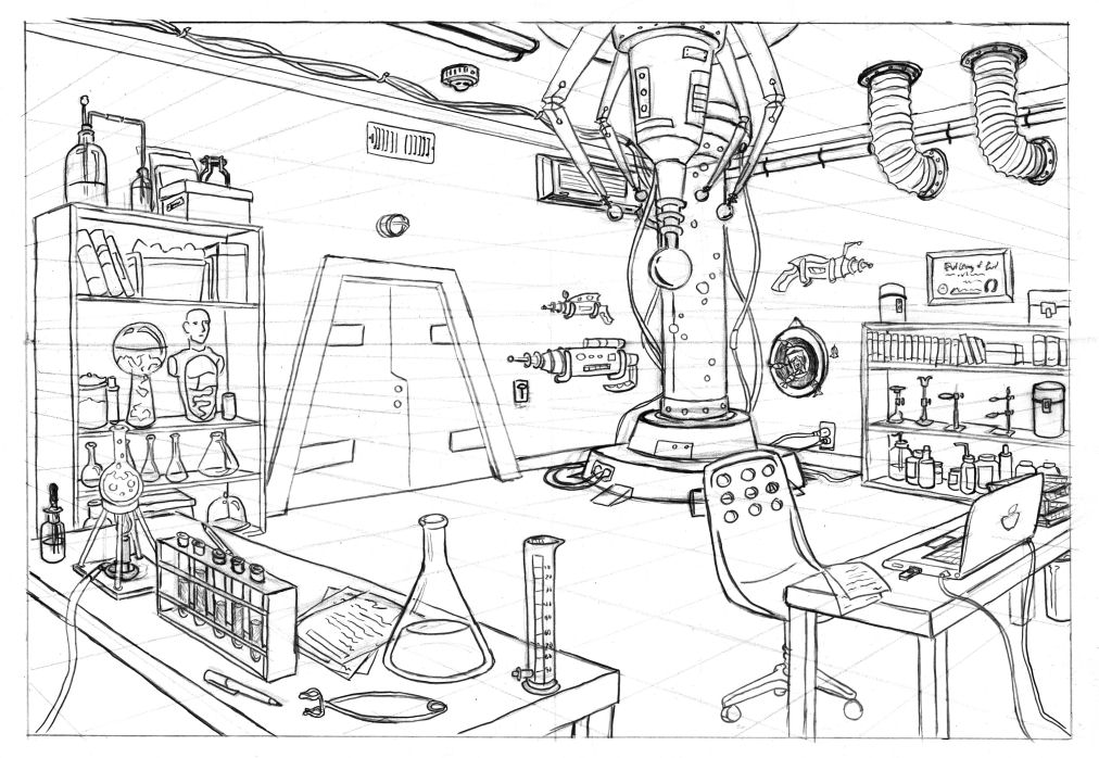 Horrible Lab by Oriana132 on DeviantArt