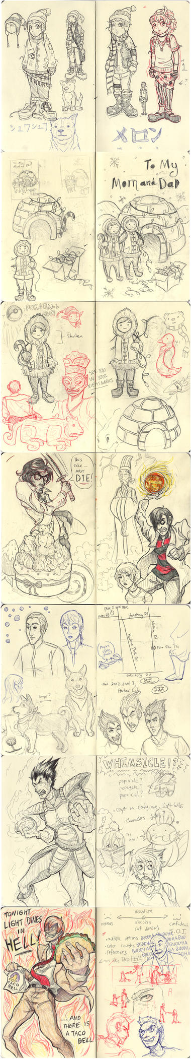 HK Sketchbook 2 by Oriana132