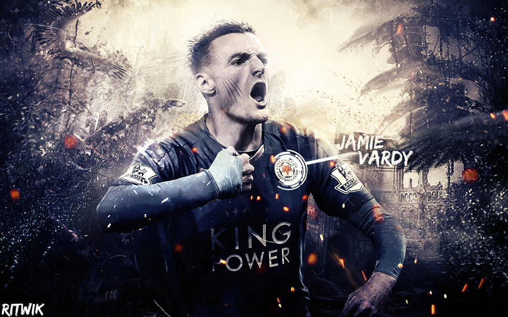 Jamie Vardy 2016 Wallpaper By RitwikBasakGraphics On