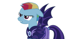 Rainbow Dash. Lunar. Alternative reality. 5 season