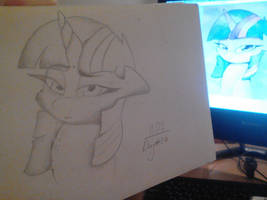 DailyArt challenge. Day 34. Twilight Sparkle. by dastachov