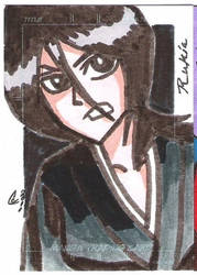 Rukia Sketch Card