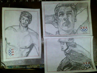 Olympic Post-It Sketches