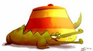Crocodile Cookies by waymonds