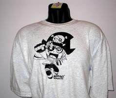 Captain Kidd T-shirt Design