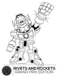Rivets and rockets 3 exhibit coloring page