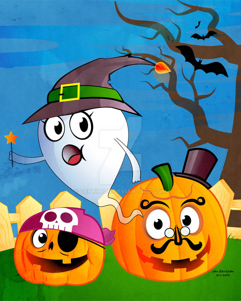 Trick or Treat Halloween Ghost