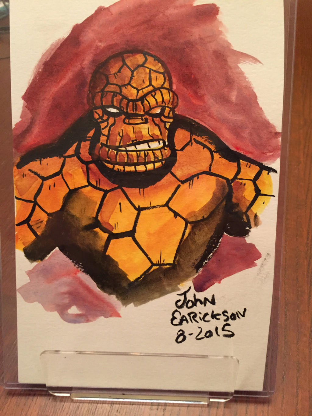 Thing watercolor sketch