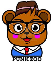 Hipster Bear for Punk Zoo