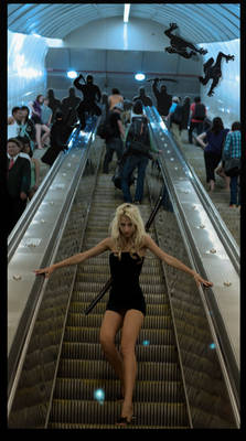 Escalator Ninjas