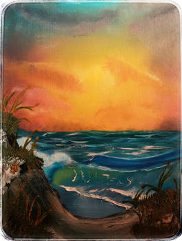 Sunset Sea