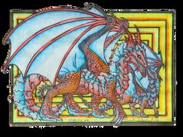 Munchkin dragon by Blazsek