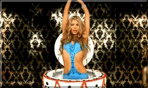 Fergie WIDE Cake Dance Gif by MegaPaperGirl by kane809