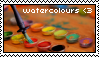Watercolours Stamp by Rejnbol
