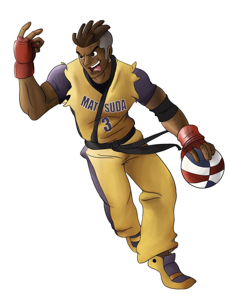 Sean Street Fighter Basketball 4058 | INFOVISUAL