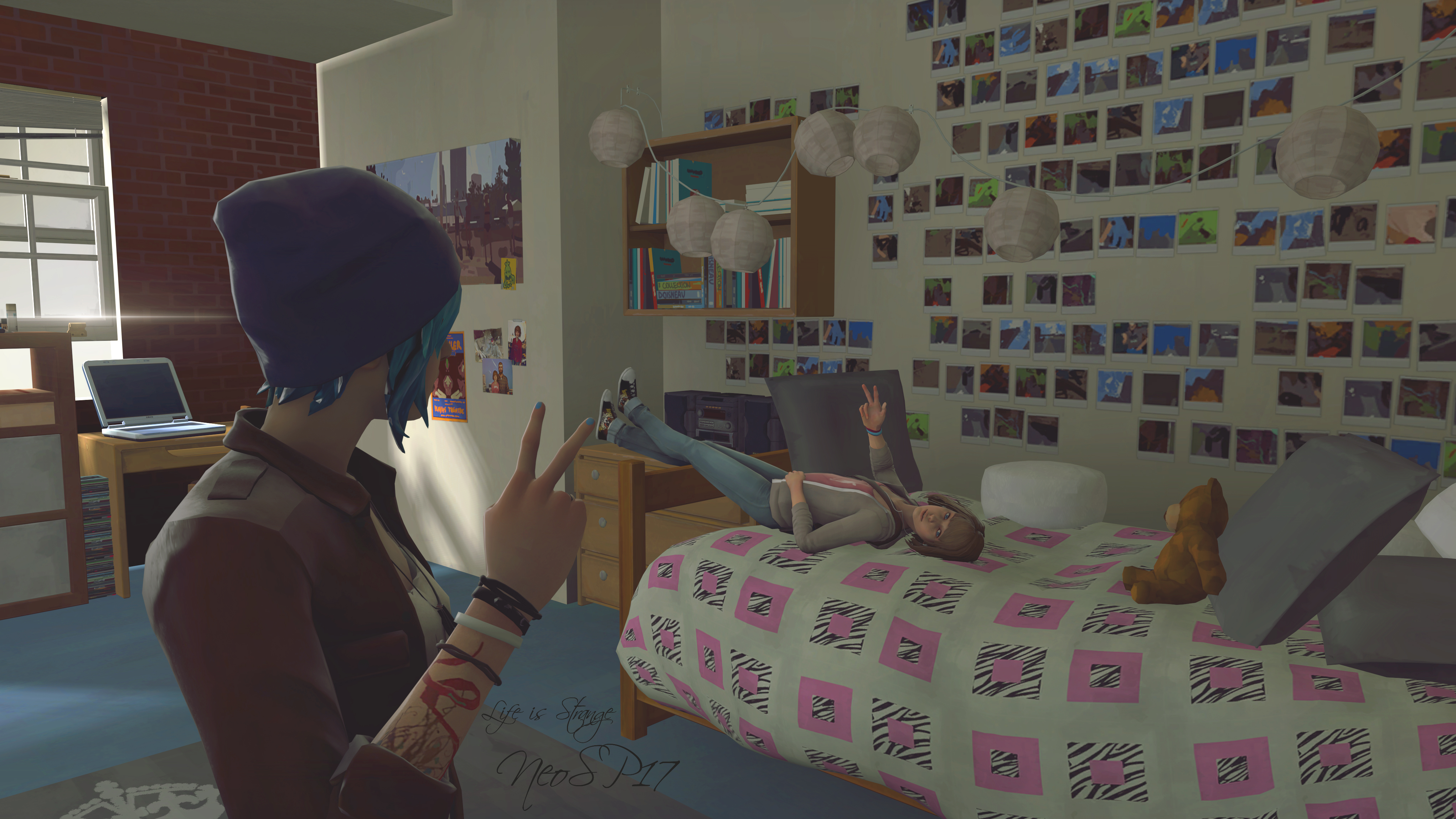 Life Is Strange Max And Chloe Peace 4k By Neosp17 On Deviantart