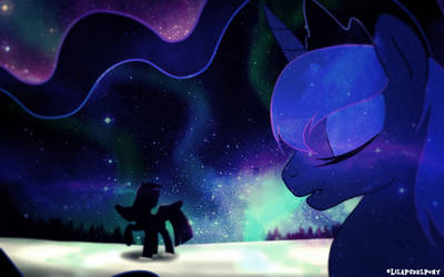 A dream of Winter by LilaPudelPony