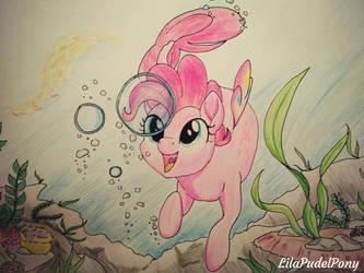 Bubbly Seaponk  by LilaPudelPony