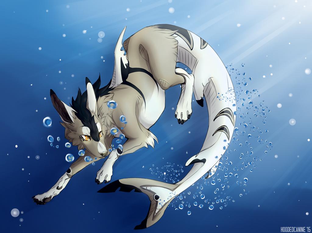 Deep Water by HoodedCanine